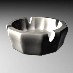 ash tray ashtrays 3ds