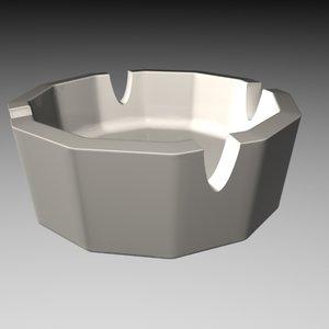 3ds ash tray ashtrays