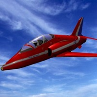 hawk jet aircraft 3d 3ds