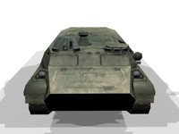 mtlb amphibious vehicle 3d max