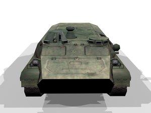 mtlb amphibious vehicle 3d max