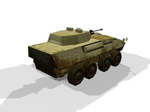 3d piranha turret
