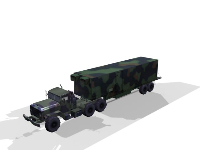 bigfoot hauler 3d model