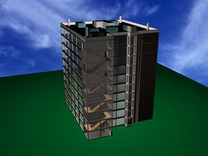 commercial building architecture max free