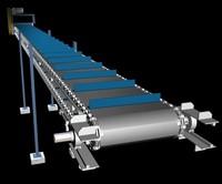 belt transporter 3d model