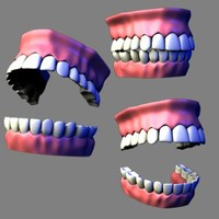 lightwave teeth gums