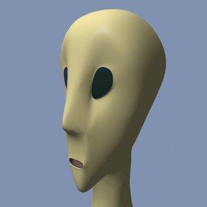 alien character morph max