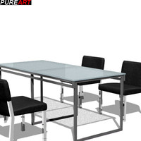 tables kitchen v1 3d max