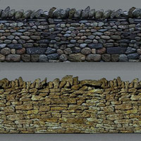 wall dry stone 01