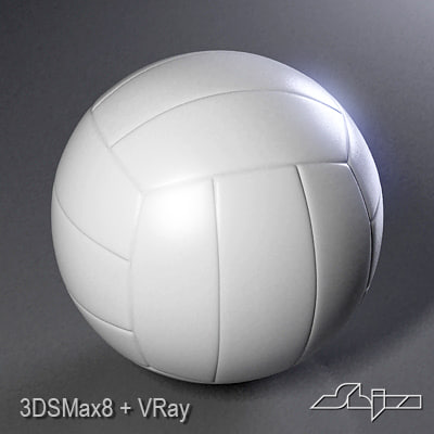 olley ball olleyball 3d model