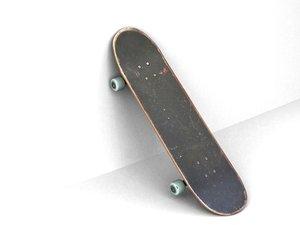 3d model skateboard