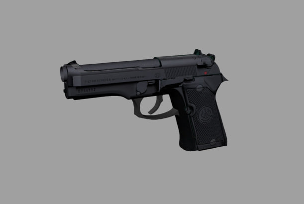 3d model beretta