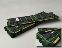 128mb pc133 sdram legend 3d model