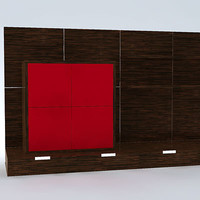3d cabinets model