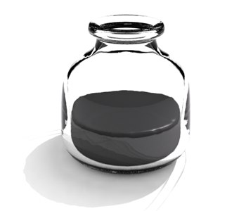 3ds max glass ink bottle