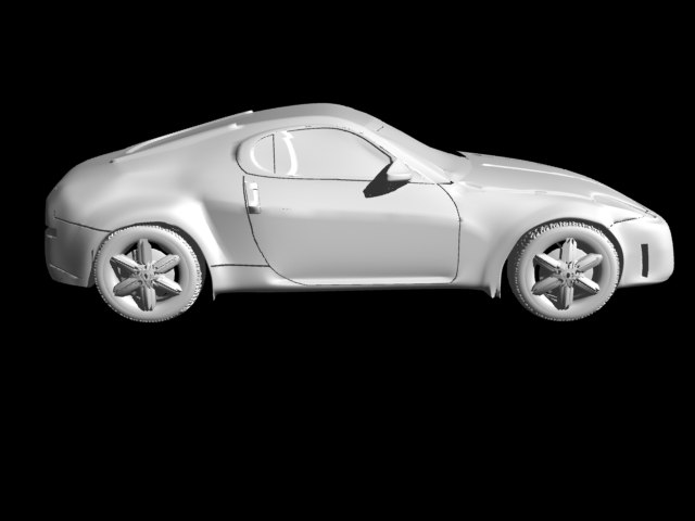 lightwave sports car vehicles