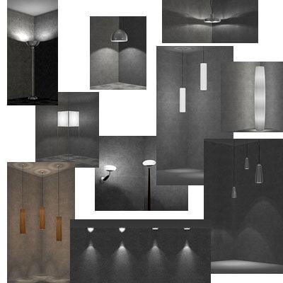 lamp light 3d model