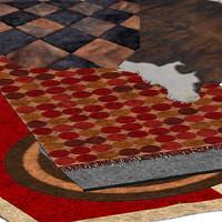 rugs living v1 3d model