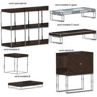 cabinets tables 3d model