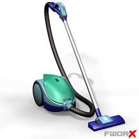 3d model vacuum cleaner