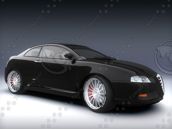3d model alfa romeo
