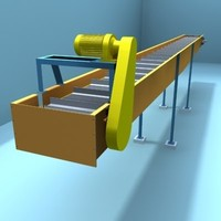 chain transporting 3d model