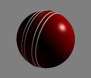 cricket ball 3d x
