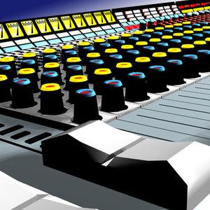 video mixer 3d max