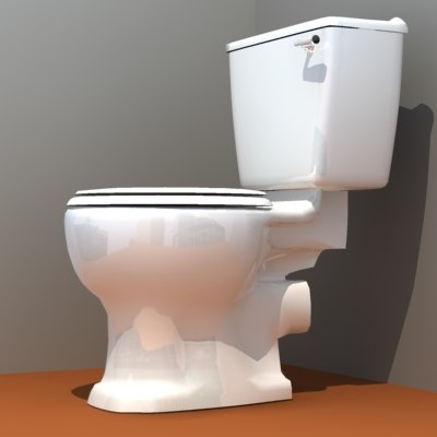 3d model loo old