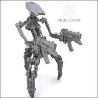 droid dct1 3d model