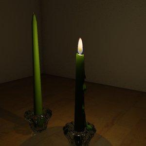 candles holder 3d model