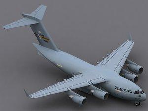 c-17a globemaster iii c-17 3d model