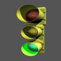 3dsmax traffic signal