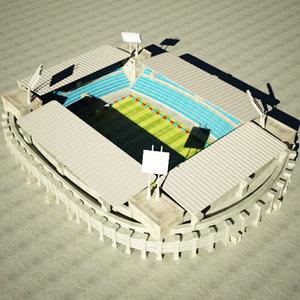 stadium arena 3d model
