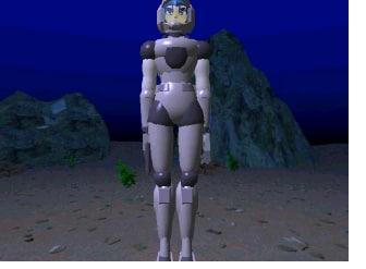 3d model human suit