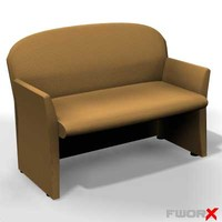 free sofa furniture 3d model