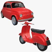 Fiat 500 & Vespa