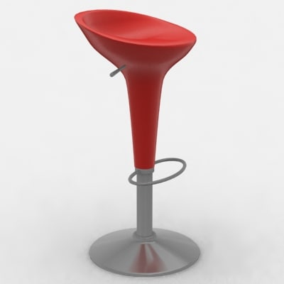 stool giovannoni 3d model