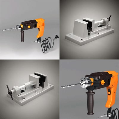 vice tool drill 3d 3ds