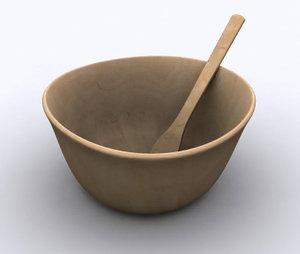 3ds max salad bowl