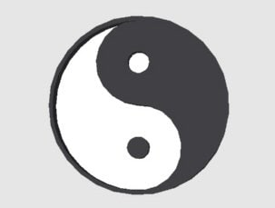 free yin yang 3d model