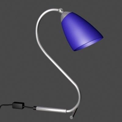 3d model anonimo desk lamp
