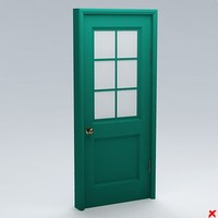 glass door 3d model