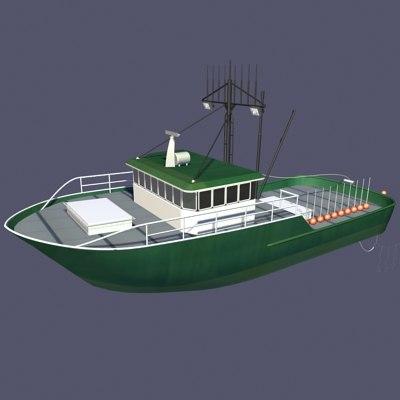 maya long lining fishing boat