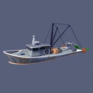 new trawler 3d 3ds