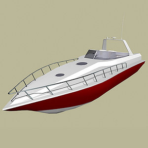 max powerboat speedboat boat