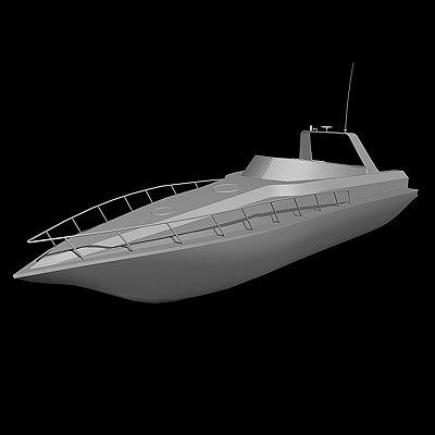 powerboat speedboat 3ds