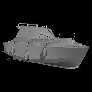 3d 3ds river cruiser
