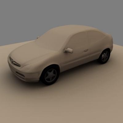 citreon 3d model