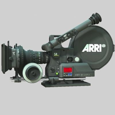 arriflex camera 3d model